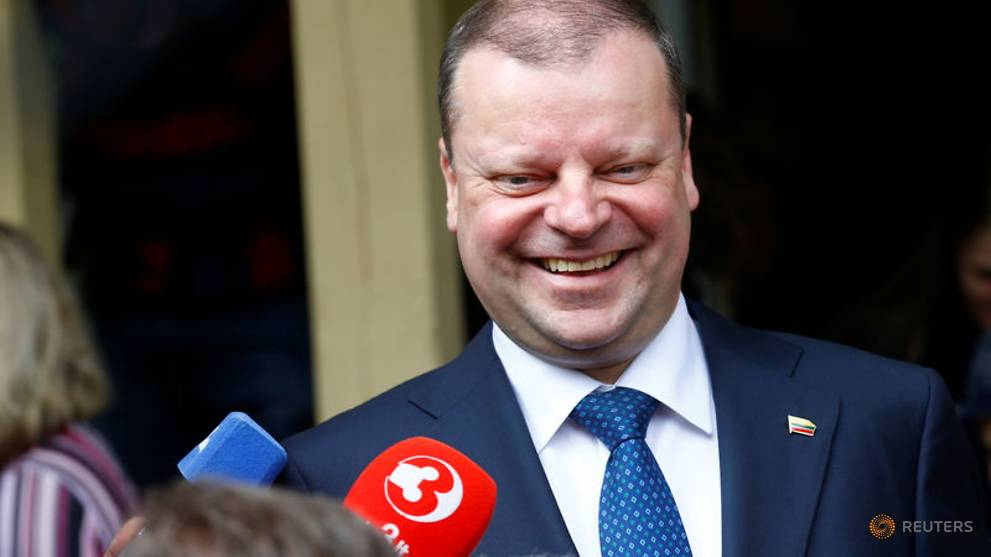 Lithuanian PM being treated for lymphoma, will keep working