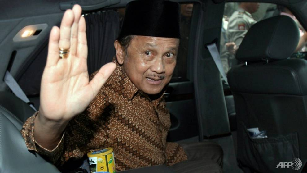 Singapore leaders express condolences over death of former Indonesian president Habibie