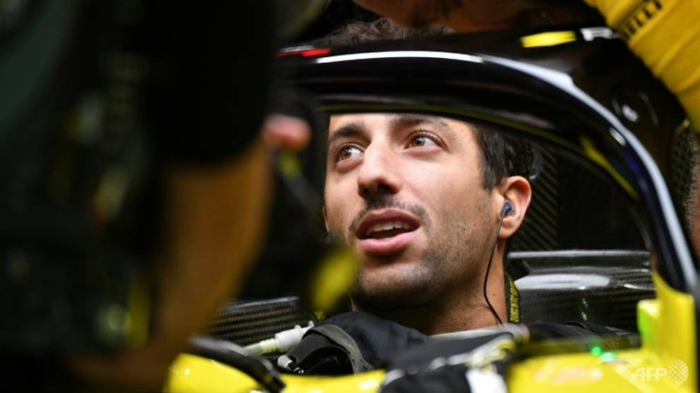Formula 1: Ricciardo demoted to back of Singapore Grand Prix grid