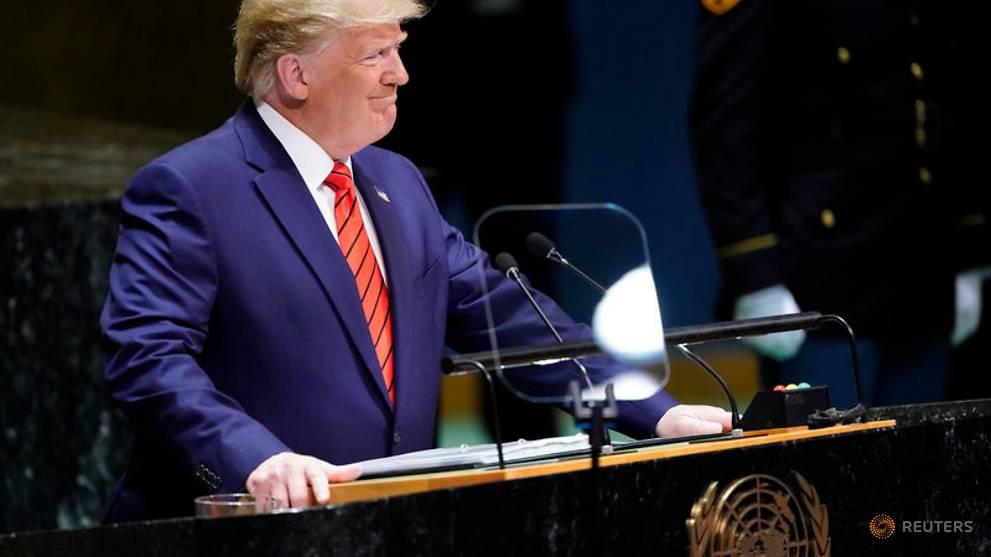 Trump's China trade rhetoric turns harsh at UN, says won't take 'bad deal'