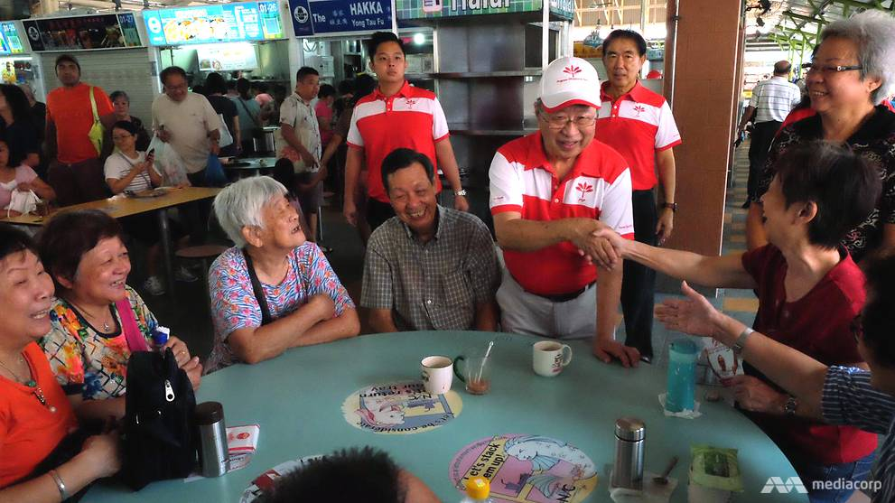 Tan Cheng Bock visits Ghim Moh, Tiong Bahru during first Progress Singapore Party walkabout