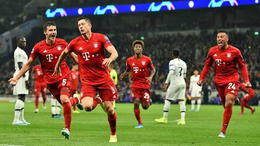 Champions League Tottenham Bayern