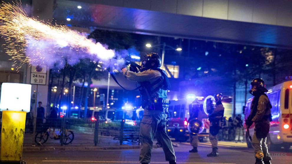 US company supplying tear gas to Hong Kong police faces mounting criticism