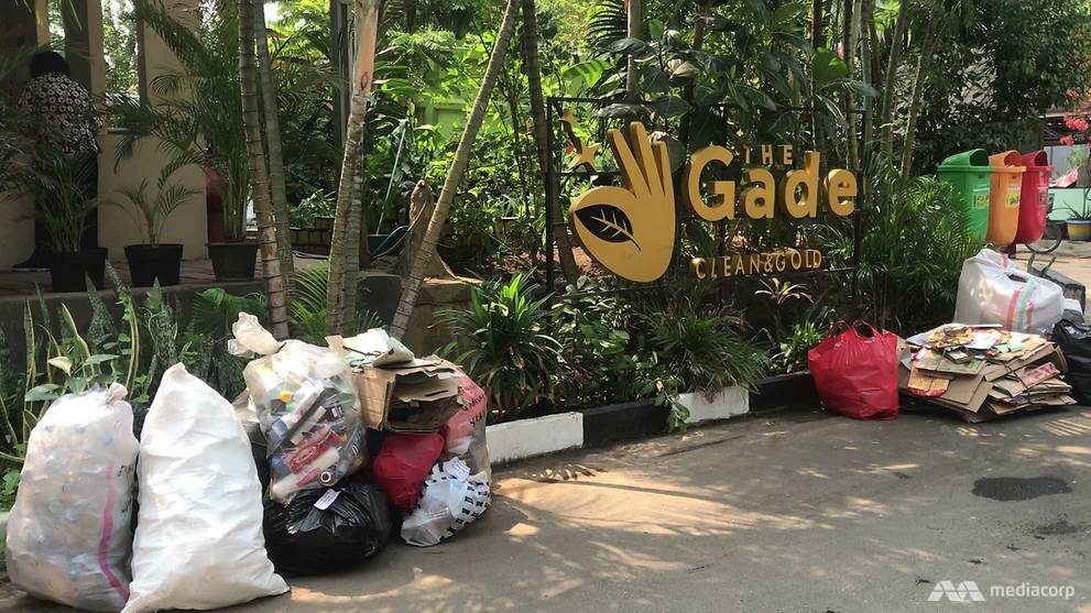 Trash for gold: Jakarta's waste bank rewards residents for trading in recyclables