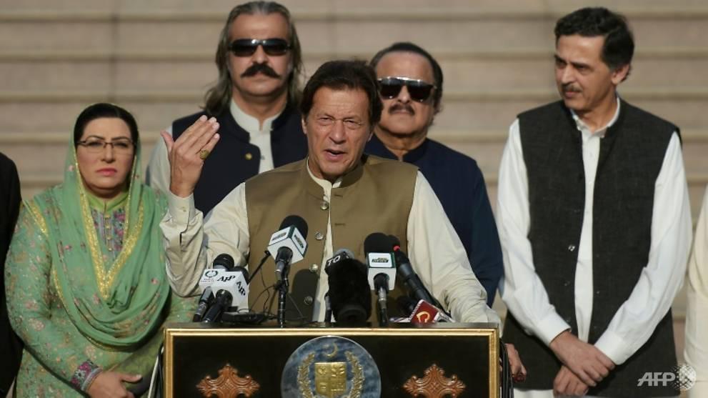 Pakistan's Khan blasts media 'double standard' over Hong Kong protests