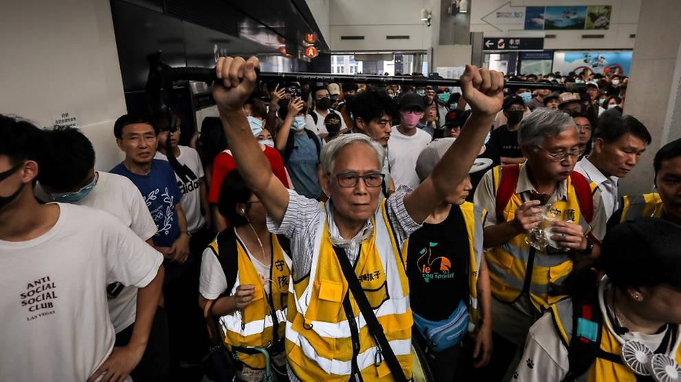 Silver-haired sit-in, face mask party protests planned for Hong Kong