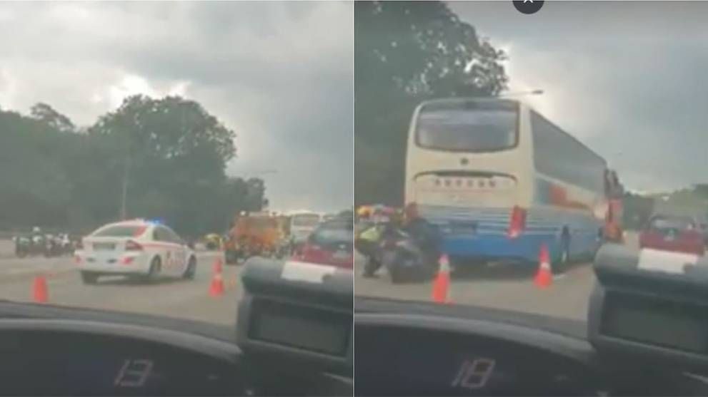 20 people taken to hospital after accident along BKE