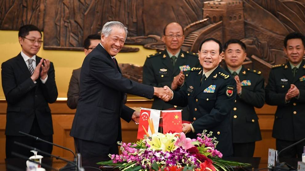 Singapore, China sign defence agreement to scale up army, navy exercises, establish regular dialogue