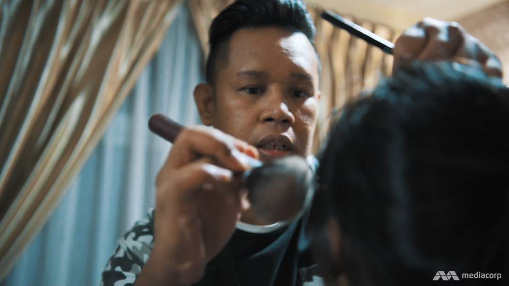 Breaking free from his shades of grey: The visually impaired make-up artist
