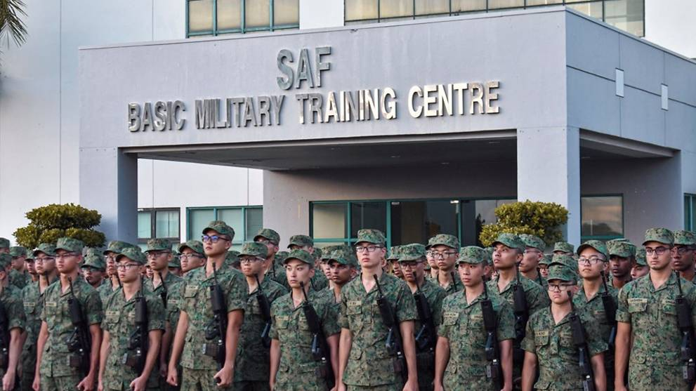 COVID-19: No guests allowed at SAF BMTC on Pulau Tekong on enlistment day