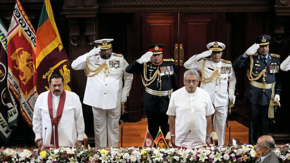 Sri Lanka's ruling siblings: New president swears in his brother as Prime Minister