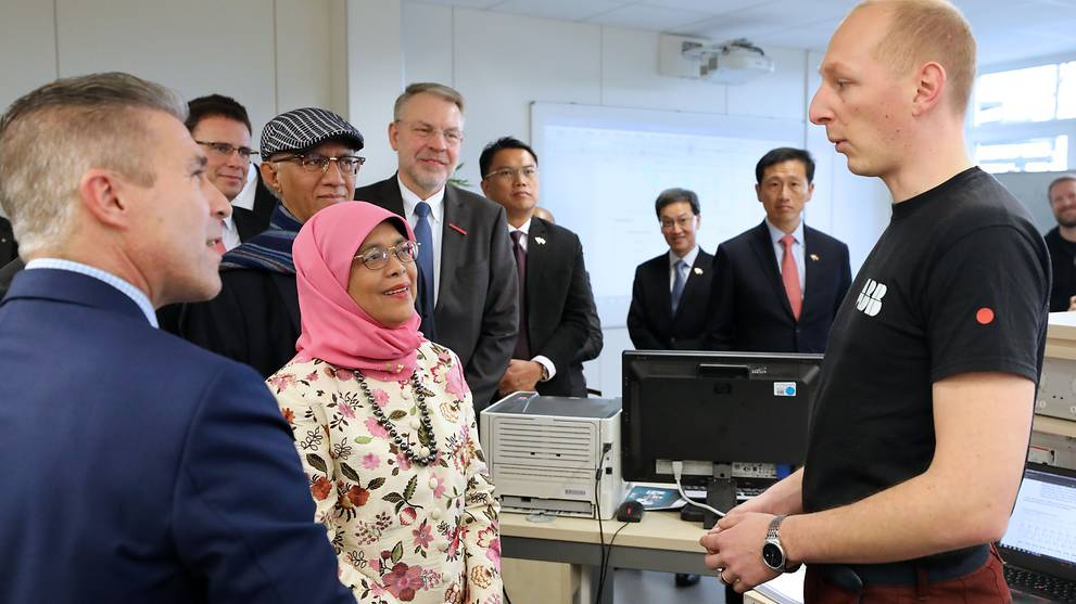 Singapore can learn from Germany's dual education system: President Halimah