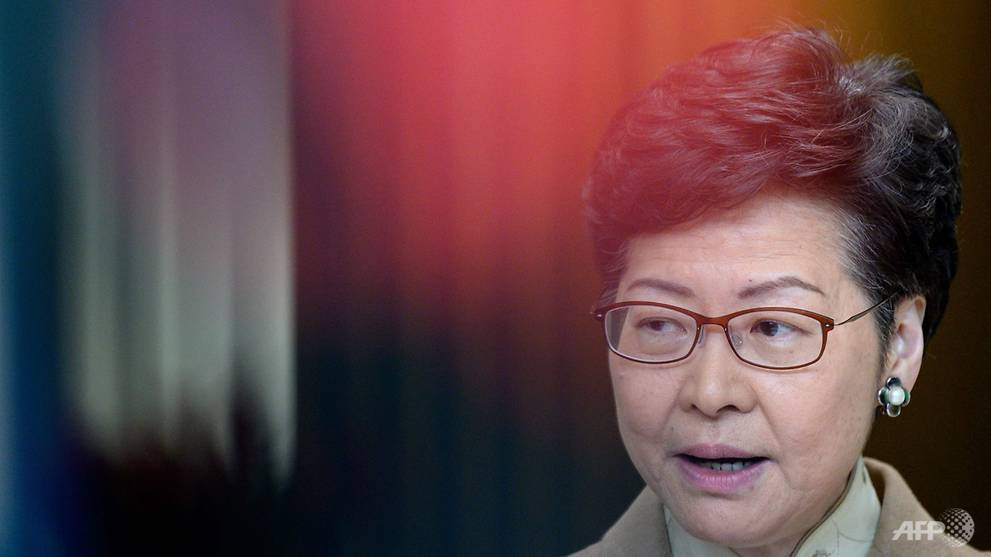 Hong Kong leader vows to work closely with Beijing's new envoy