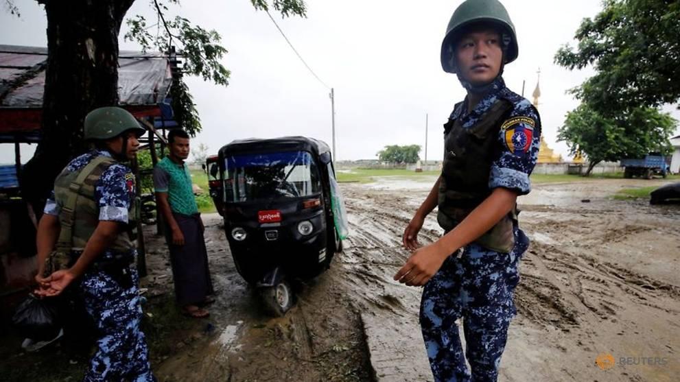 Four Rohingya children killed in blast in Myanmar's Rakhine state