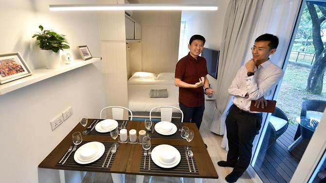 Singapore Shipping Container Hotel Opens For Unique Travel Experience 1