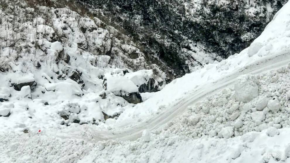 Search suspended for South Koreans, Nepalis hit by avalanche