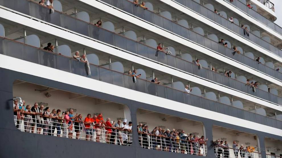 Cruise firm seeks new COVID-19 test for passenger from ship in Cambodia