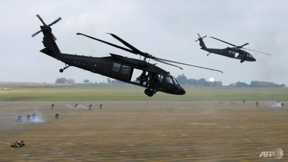 Fog, human factors behind deadly Black Hawk crash in Taiwan