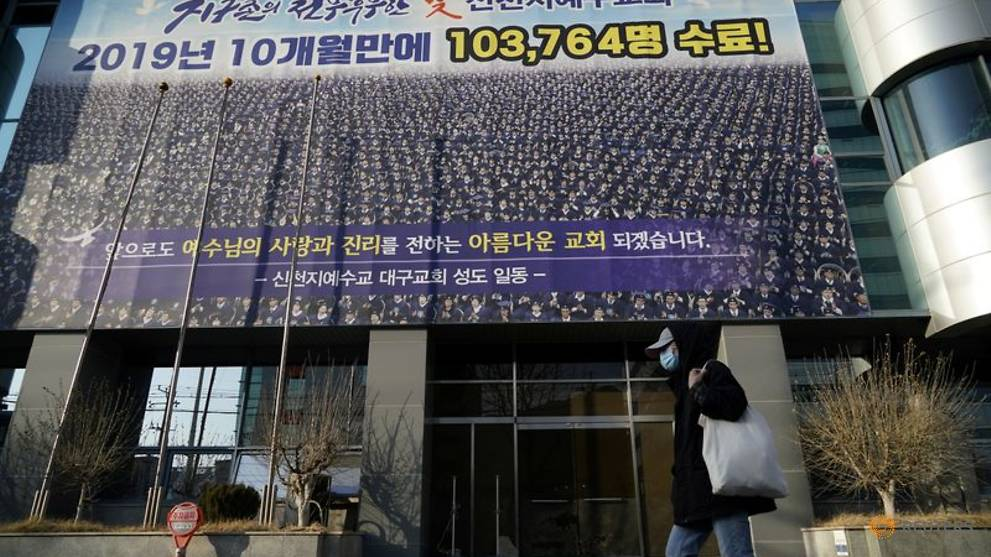 Church at centre of South Korea COVID-19 sits silent as infections surge