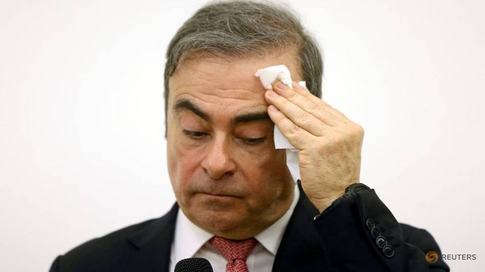 Japanese minister tells Lebanon Ghosn should stand trial in Japan