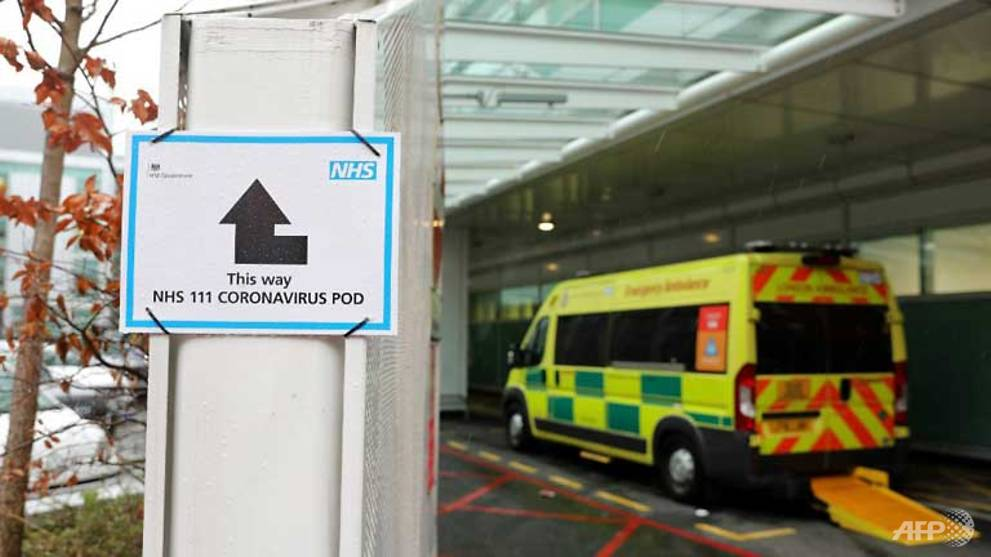 London hospitals facing 'tsunami' of COVID-19 patients: Health official