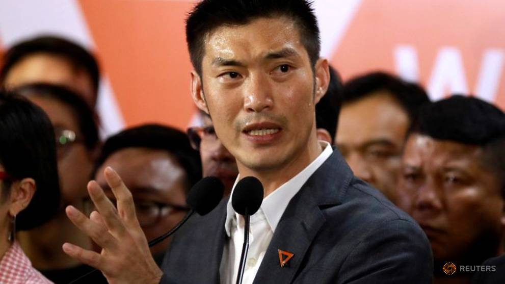 Banned Thai billionaire politician vows to press fight for democracy