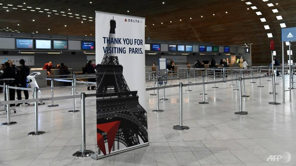 Airline stocks nosedive as US travel ban hits EU travel industry