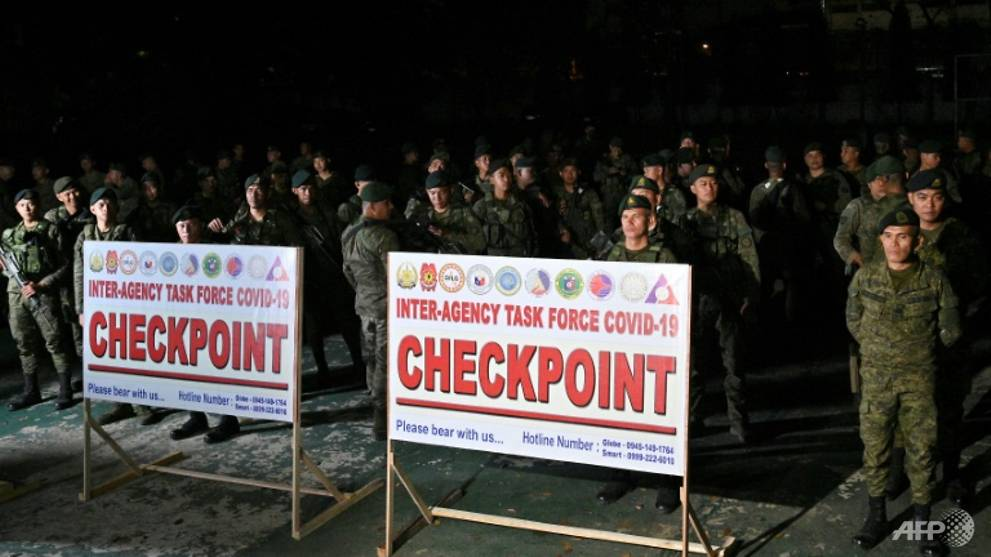 Philippines closes off capital to fight COVID-19