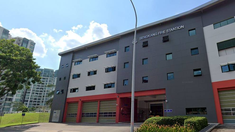 Sengkang Fire Station disinfected after SCDF officer tests positive for COVID-19