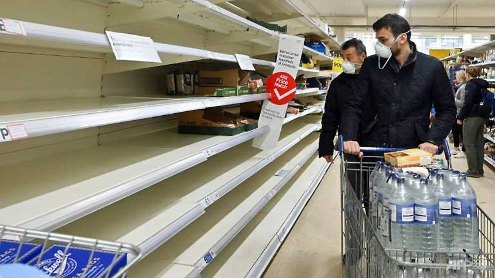 UK supermarkets call for calm as coronavirus fears trigger panic buying