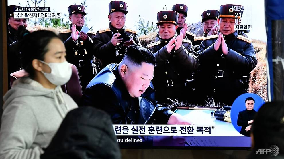 North Korea missile fire 'highly inappropriate' amid COVID-19, says South Korea