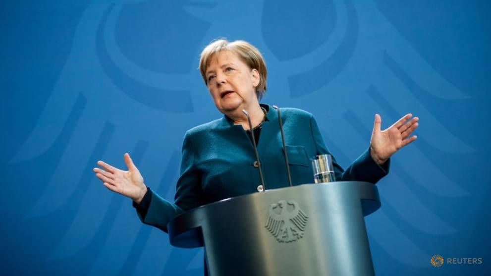 Merkel's initial coronavirus test came back negative: Spokesman
