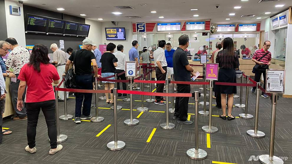 Singapore Pools to suspend lottery draws, close outlets and online betting service