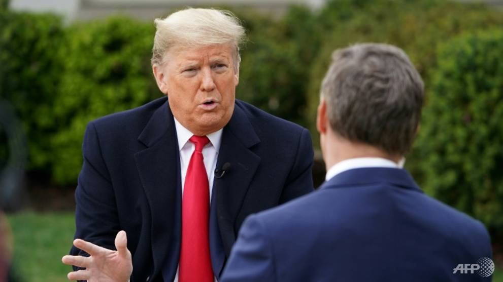 Trump calls for quick end to US coronavirus lockdown