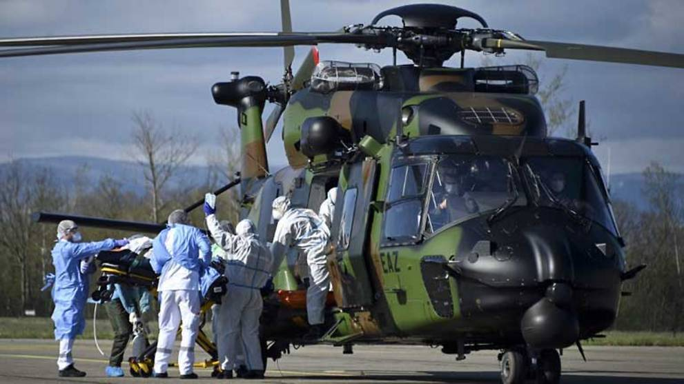 France sees worst daily death toll as army ferries virus patients