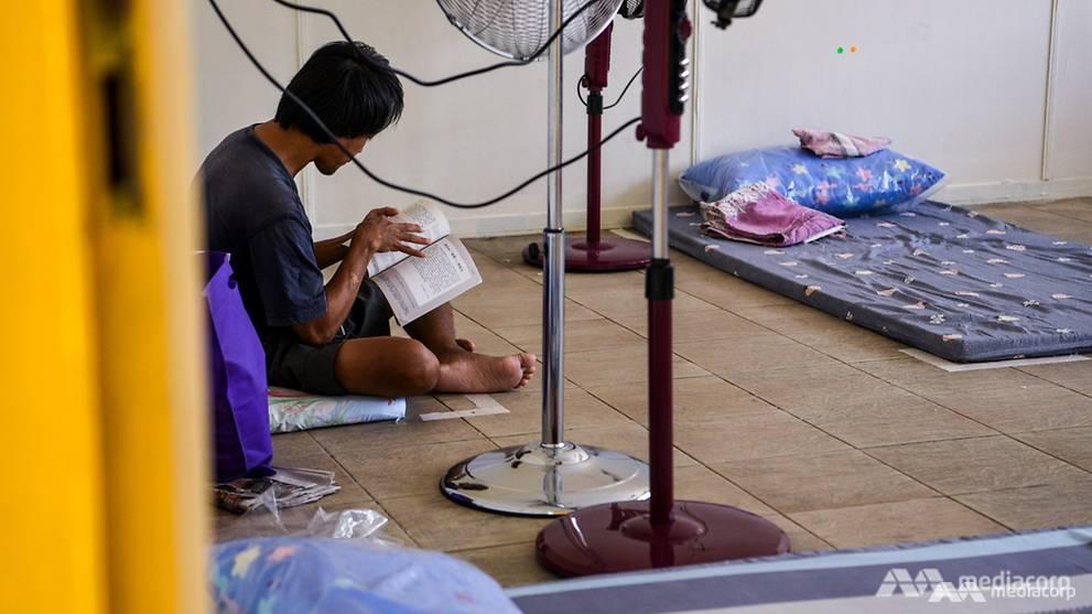 COVID-19: Shelter volunteers help workers sleeping rough in Singapore