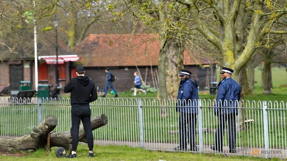 UK police criticised for overzealous lockdown response