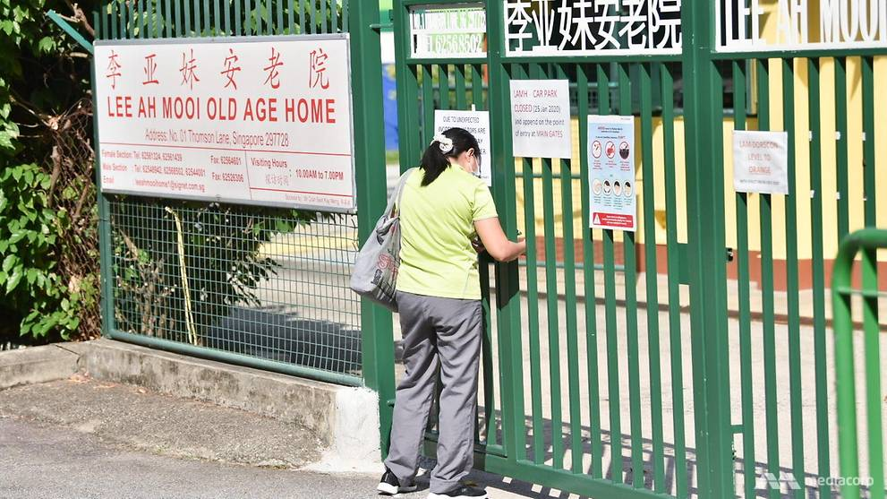 COVID-19 cases reach 1,000; new cluster at Lee Ah Mooi Old Age Home