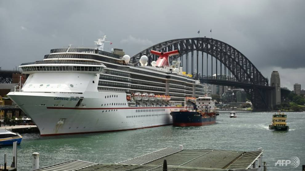 Australia to test 9,000 crew members stranded on cruise ships for COVID-19