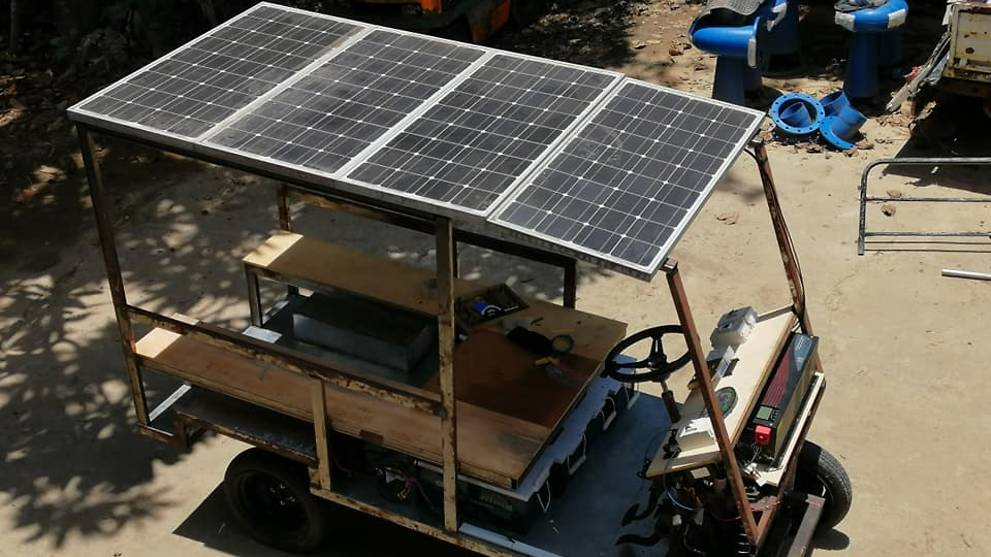 Malaysian senator builds solar-powered buggy while under home quarantine for COVID-19