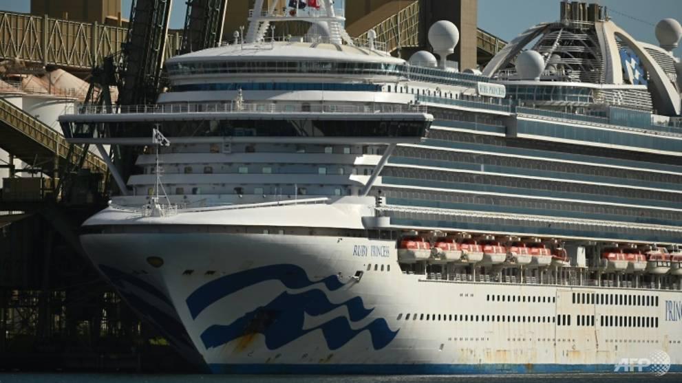 Australian police seize black box in raid on coronavirus-hit cruise ship Ruby Princess