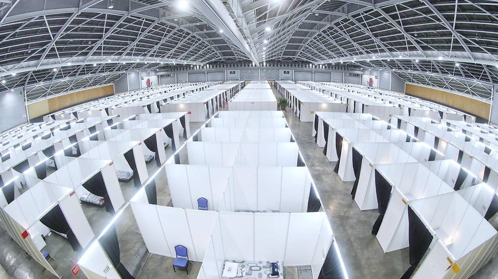 COVID-19: Community isolation facility at Singapore Expo operational from Apr 10
