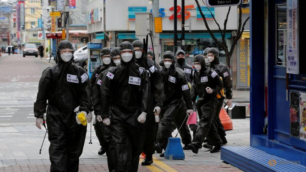 South Korea's Daegu reports no new COVID-19 cases for the first time since February