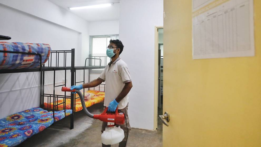 Cleanliness and sanitation at 4 isolated foreign worker dormitories 'vastly improved': MOM