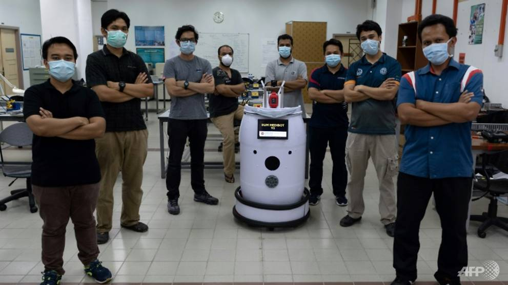 'Medibot' to do rounds on Malaysian COVID-19 wards
