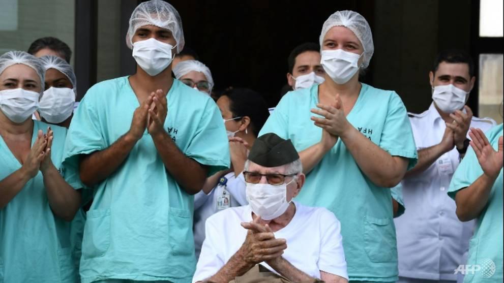 99-year-old WWII veteran beats coronavirus in Brazil