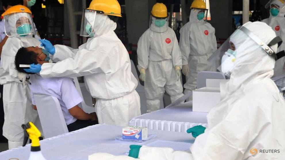 Indonesia reports 214 new COVID-19 infections, 22 deaths