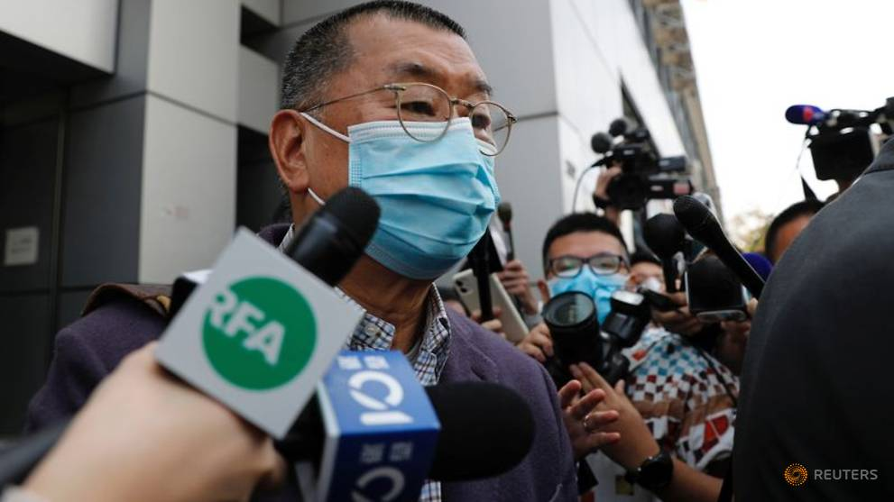 Foreign criticism of activists' arrests 'unfounded': Hong Kong