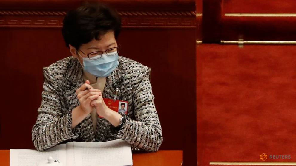 Hong Kong leader Carrie Lam says national security law will not hamper judicial independence