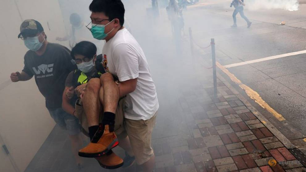 Hong Kong: Nearly a year of unrest